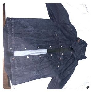 Levi's denim commuter jacket